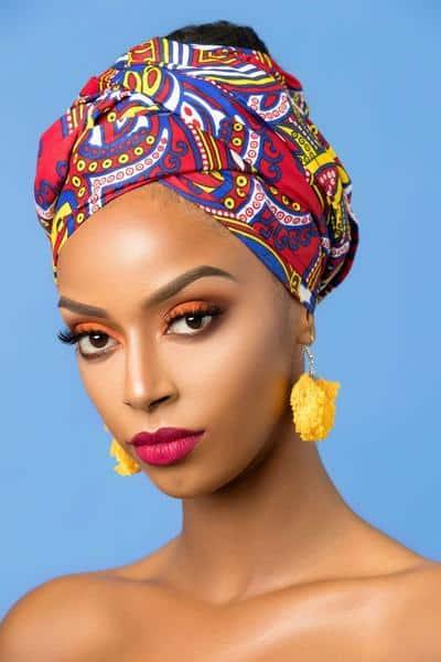 BEAUTIFUL AND STYLISH AFRICAN ANKARA HEAD WRAPS 20