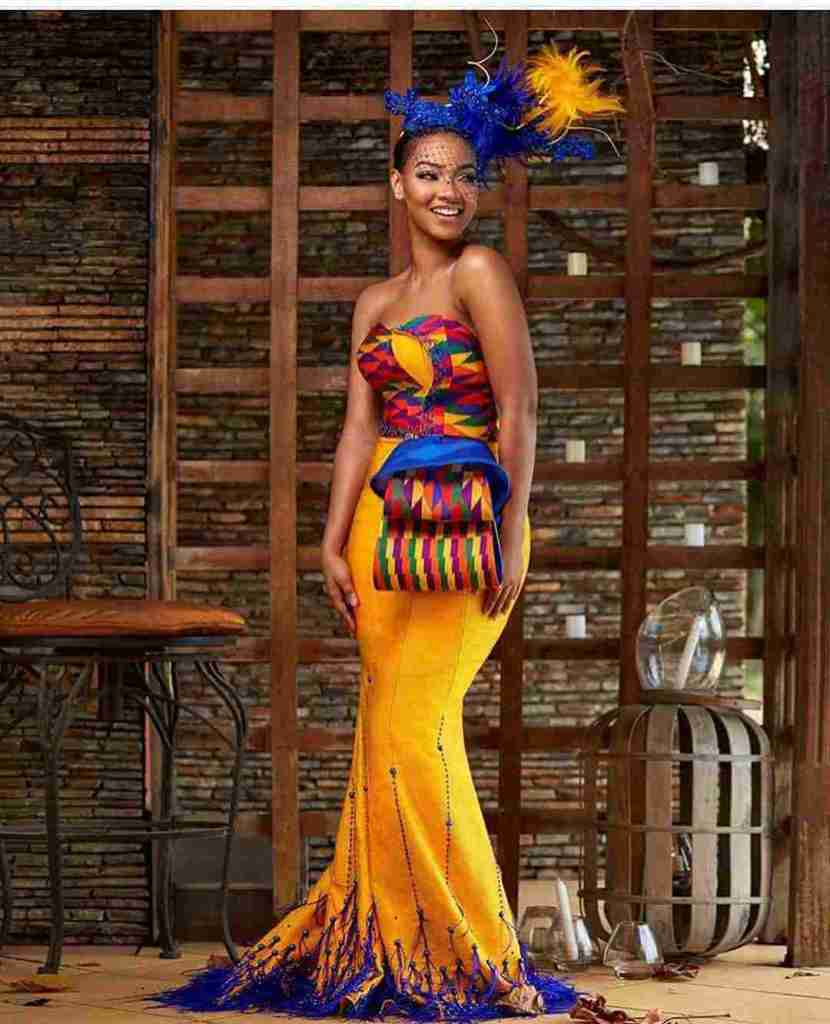 STYLISH AND GLAMOUROUS GHANA KENTE STYLES IN 2019 18