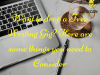 Want to drop a Free Writing Gig- Here are some things you need to Consider