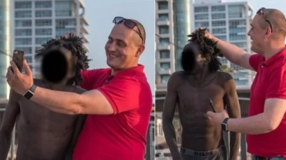 Photos Of African Refugees Being Humiliated In Israel Causes Outrage