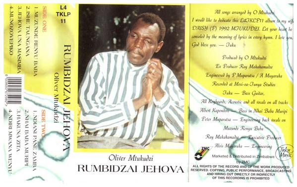 Oliver Mtukudzi - Rumbidzai Jehova (Album)