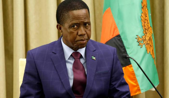 It Is Unacceptable For Outsiders To Dictate Africa's Governance – Lungu