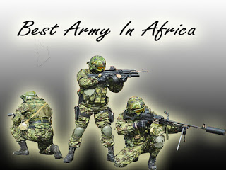 Top 10 Best Army In Africa 2019