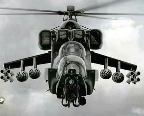 Nigerian Air Force Receives New Mi-35M helicopter, expects more.