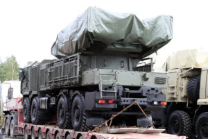 "Algeria displays new Pantsir SM in a live fire exercise ""Sakhr 2018"""