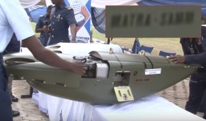 Nigerian Air Force helicopter gunpod