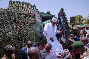 Army Day celebration 2018: Nigerian commissions 10 Proforce Ara MRAP