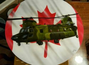 First Royal Canadian Air Force Chinook helicopter leaves for Mali