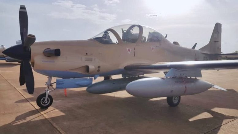 malian air force super tucano aircraft