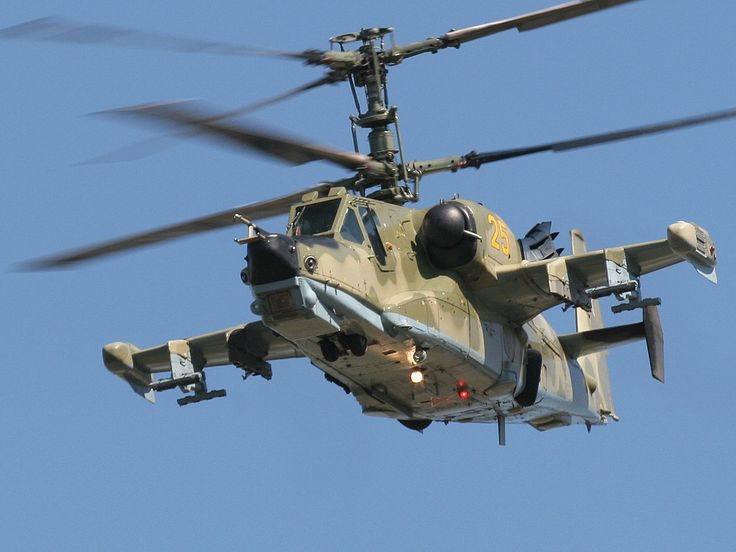 Satellite photos shows large number of  Ka-52 attack helicopters at Egypt's airbase