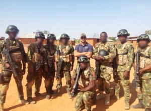 Four Troop in northeastern Nigeria