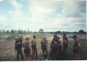 Executive Outcomes Recce's giving RPG-7 training 1994