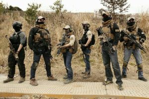 private military contractors IN Africa