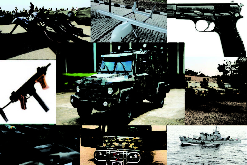 Nigerian made weapons, a complete list