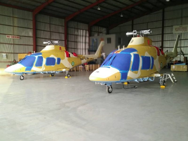 Naf To Induct New Helicopters On Thursday