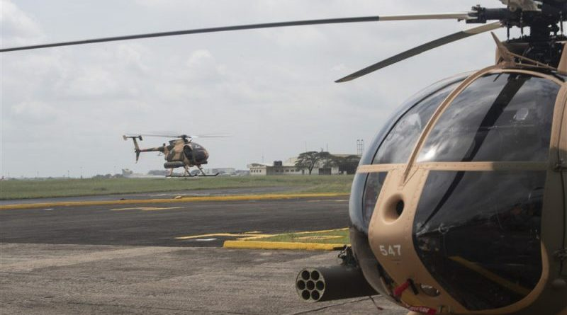Kenya Defence Forces induct MD 530F helicopters