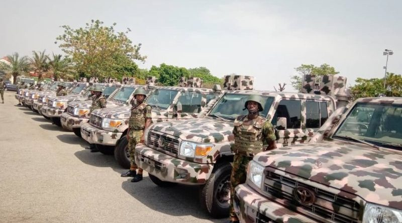 Nigerian Army procures 55 combat and logistics vehicles