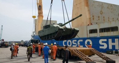 Nigerian Army receives new VT4 MBT, ST1 light tanks and SH-5 self-propelled howitzers
