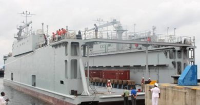 Cameroonian Navy acquires Chinese floating dock for maintenance