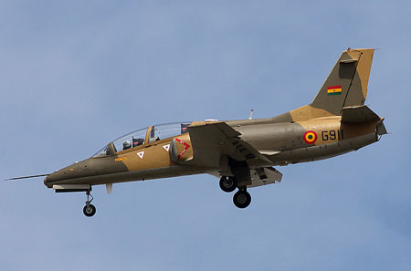 The National Air Force of Angola (FANA) has now taken delivery of six Hongdu K-8W Karakorums.