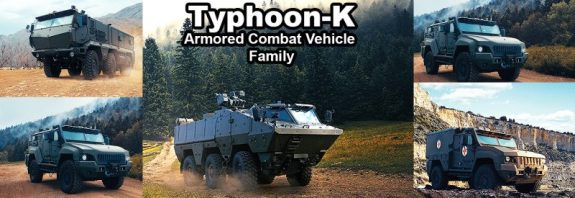 Russia is rolling out a new family of the Typhoon-K MRAP optimized for African Customers.