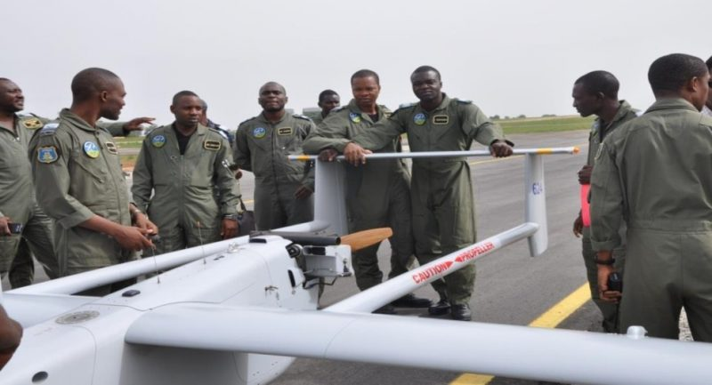 Nigerian Air Force aerostar drone UAV