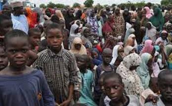 Northeastern IDP children