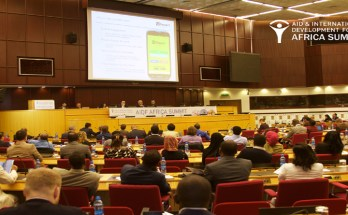 A cross-section of participants at the 1st Aid and Development Africa Summit held in Addis Ababa, in 2016