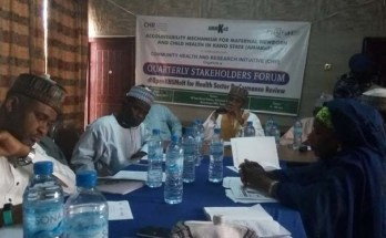 Stakeholders' forum on the review of the performance of the health sector in Kano state.
