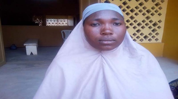 Maimuna Abdulrahim, 25, of Dukawa community, she is 6 months pregnant with her 4th baby