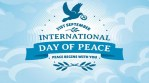 World commemorates International Day of Peace 2018