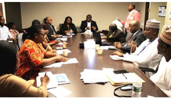 A cross section of participants at the launch of CISLAC Global office US