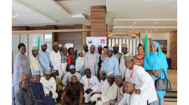 Participants at a recent sensitization meeting between Mercy Corps and education stakeholders in Kano state Photo: Mercy Corps