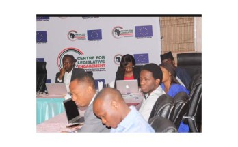 A section of youth participants at the roundtable on YIAGA-CLE's youth-responsive budgeting