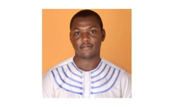 Lot Kaduma, a member of the UN Major Group for Children & Youth Habitat III Working Group for West & Central Africa