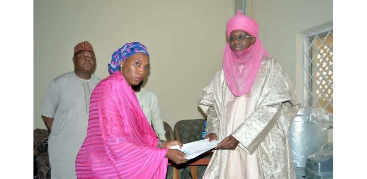 Day NFNV Nigeria, SMEDAN presented industrial equipment to women entrepreneurs