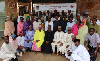 Members of Kano OGP during the two-day retreat in Abuja last week