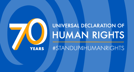 UN marks 70th anniversary of the Universal Declaration of Human Rights
