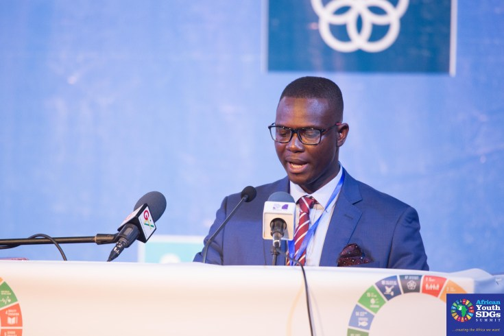 Emmanuel Ametepey, Convener of the African Youth SDGs Summit and Executive Director of Youth Advocates Ghana