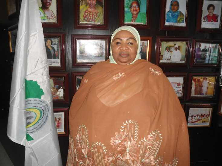Basirat Nahibi-Niasse is the founder of Women Advancement for Economic and Leadership Foundation in Africa (WAELE Africa)