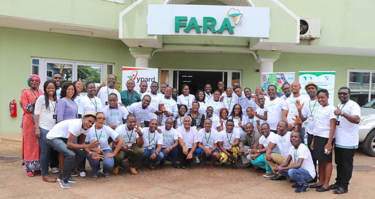 """young professionals in agriculture from across 26 African countries gathered in Accra, Ghana for a 3-day continental youth engagement workshop on the theme: """"Strategic Engagements and Capacity Development of Youth in Agri-preneurship for Technology Adoption."""""""