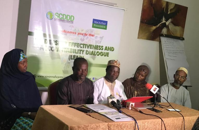 SCDDD engages Kano non-state actors on open, accountable governance