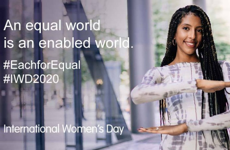 Women's Day 2020:  An equal world as an enabled world