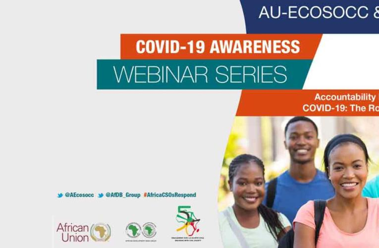 Counting the gains of AU ECOSOCC-AfDB COVID-19 awareness webinar series