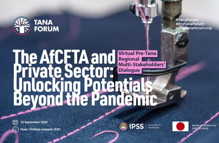 Pre-Tana Forum 2020: IPSS hosts dialogue on private sector's role in AfCFTA implementation