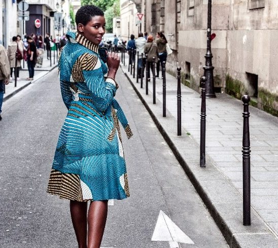 The perfect dress: African Print Dirndl by Noh Nee