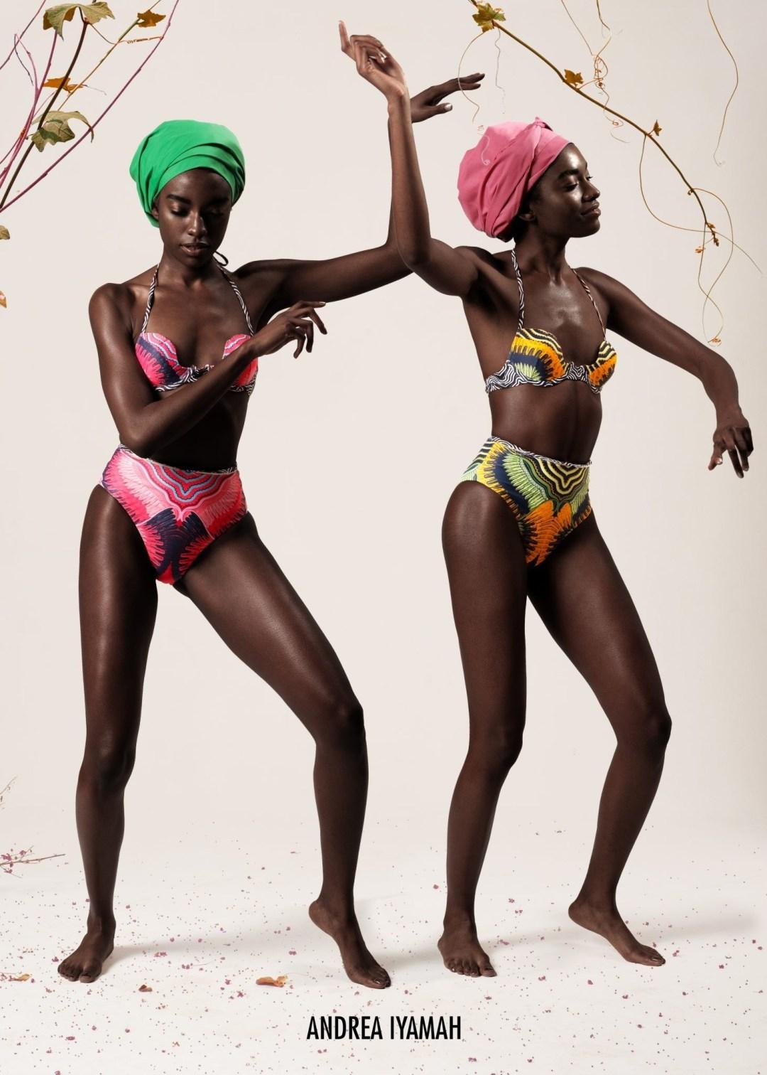 Just like Birds: New Swimwear by Andrea Iyamah