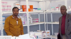 A pharmacy filled with life-changing and life-saving medicines.