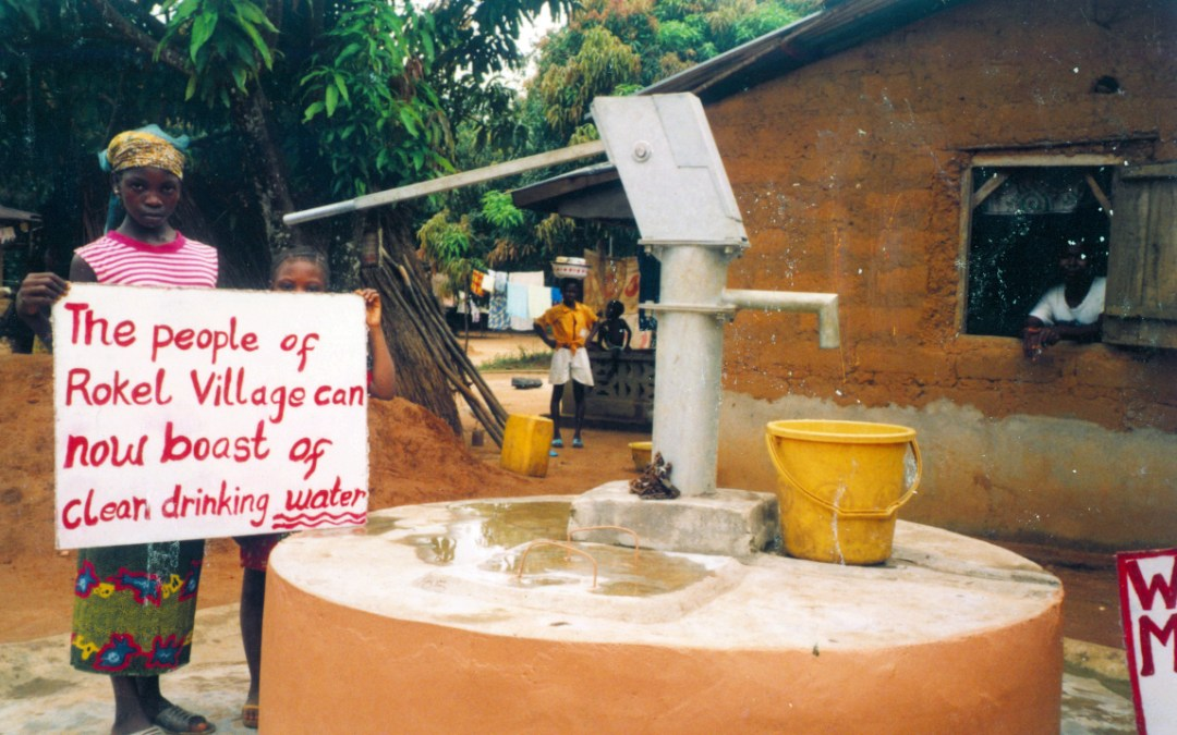 Bread and Water for Africa® Receives $10,000 Grant by the Neilom Foundation to Drill Water Well in Sierra Leone