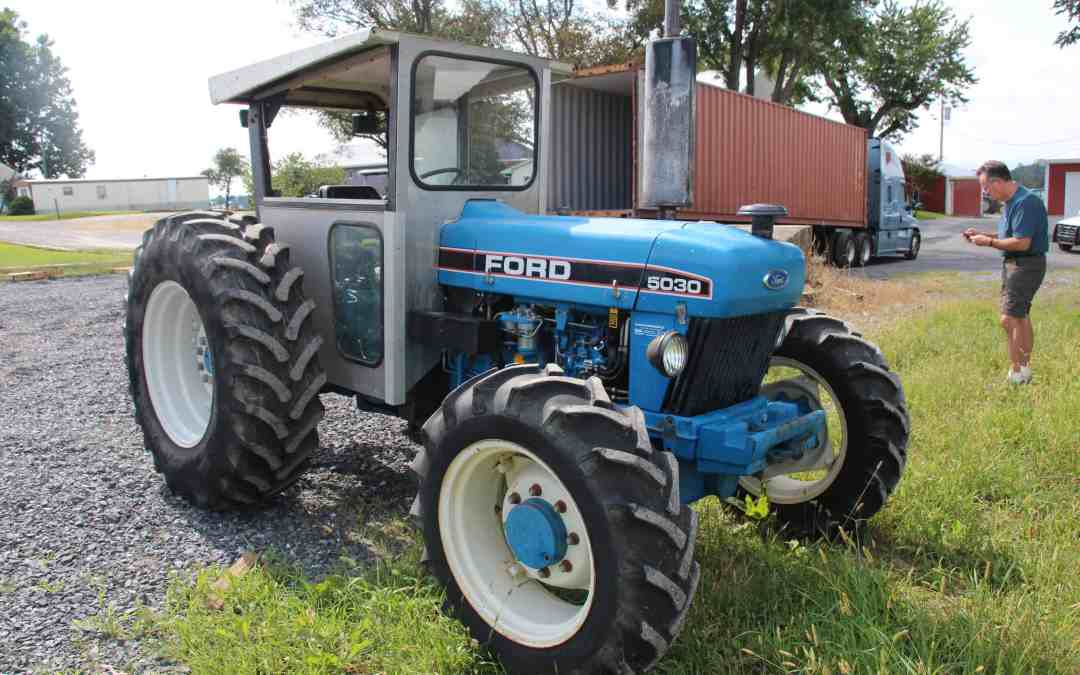 Tractor for Sierra Leone